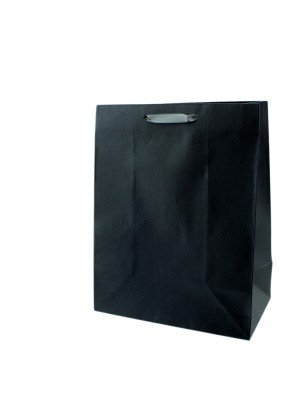 Plain Grey Gift Bags - Medium (18cm x 23cm x 10cm)