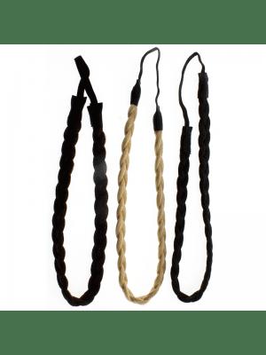 Plaited Headband - Assorted Colours