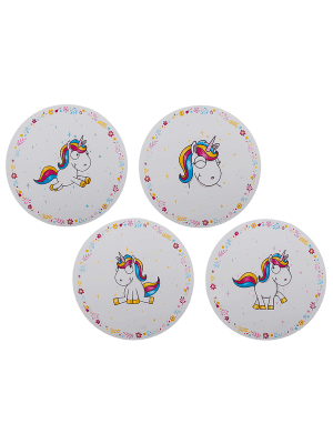 Plastic Placemat - Unicorn Assortment