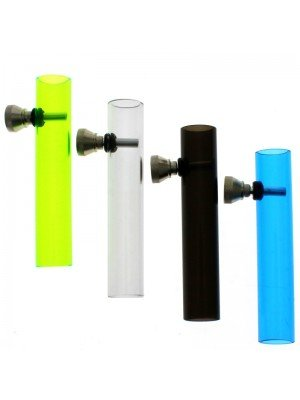 Plastic Smoking Pipe Assorted Colours