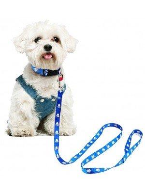 Playful Pets Paw Print Dog Lead - 120cm