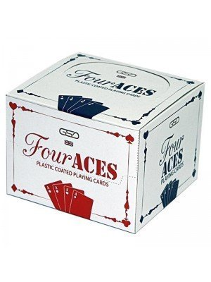 Four Aces Plastic Coated Playing Cards