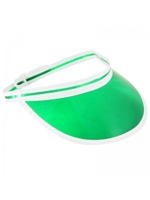 Poker Visor Hat - Green