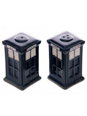Wholesale Ceramic Salt & Pepper Set - Police Box