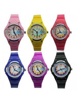 Polit Children's Assorted Silicone Strap Watches - Assorted Designs