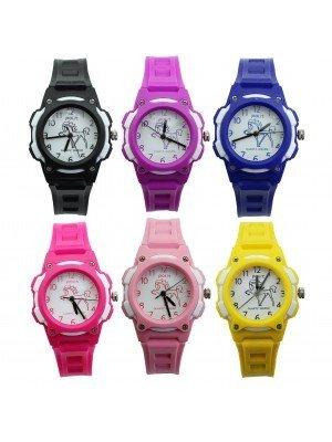 Polit Children's Horse Design Silicone Strap Watch - Assorted Designs