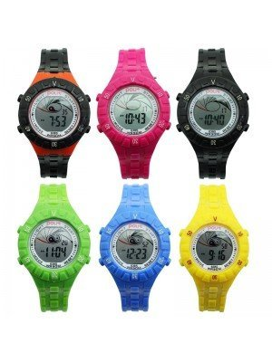 Polit Children's Yin and Yang Silicone Strap Watch - Assorted Designs
