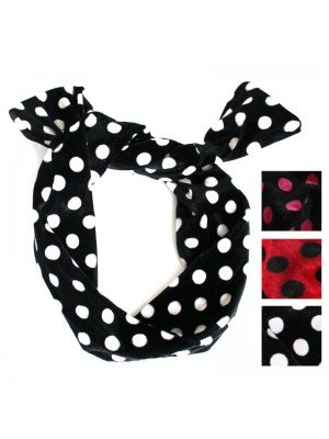 Polka Dots Bendy Headwrap - Assorted Colours