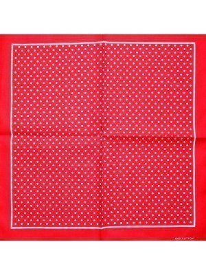 Polka Dots Bandanas - Red