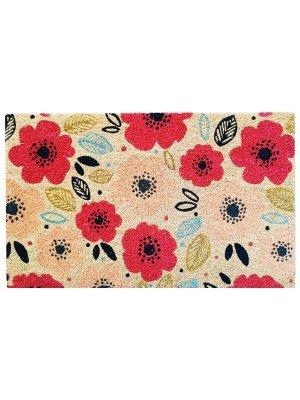 Poppy Fields Pick of the Bunch Coir Door Mat