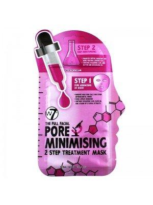 Wholesale W7 The Full Facial Pore Minimising 2 Step Treatment Mask