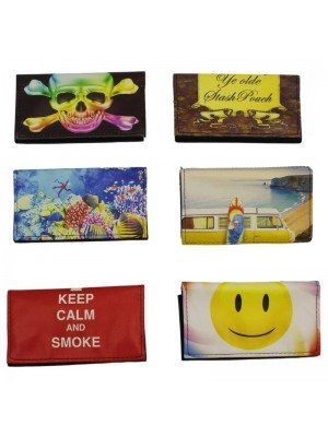 Printed Smoking Pouches-Assorted Designs