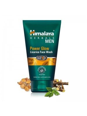 Himalaya Herbals Men Power Glow Licorice Face Wash- 100ml