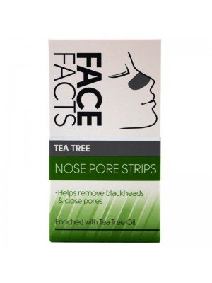 Wholesale Pretty Face Facts Tea Tree Nose Pore Strips