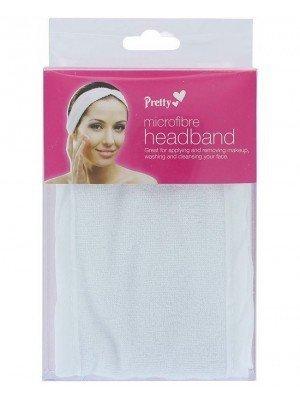 Wholesale Pretty Micro Fibre Adjustable Headband - White