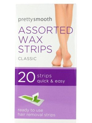 Pretty Smooth Classic Assorted Wax Strips
