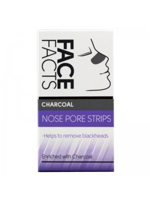 Wholesale Pretty Face Facts Charcoal Nose Pore Strips