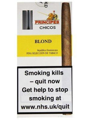 Principes Chicos Panatella Cigars - Blond (5 Cigars)