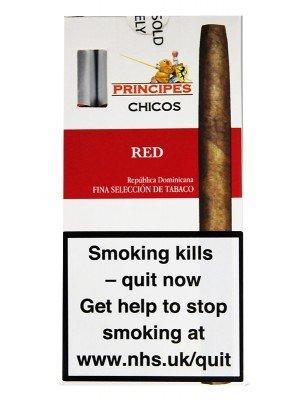 Principes Chicos Panatella Cigars - Red (5 Cigars)
