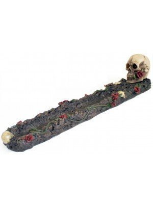 Wholesale Skulls and Roses Ash catcher Incense Burner- Assorted
