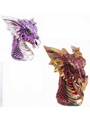Dragons Head Backflow Incense Burner