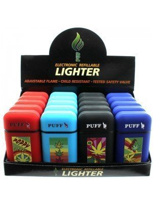 PUFF-Electronic-Refillable-Lighter-Assorted-Designs-72678