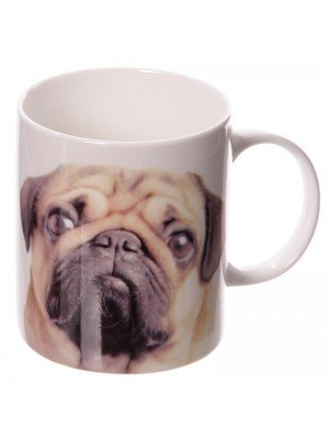 Pugs and Kisses New Bone China Mug