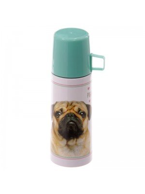 Pugs & Kisses Stainless Steel Flask - 350ml