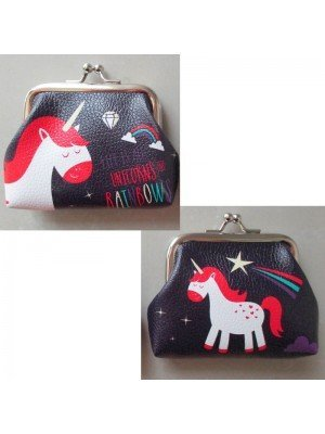 Enchanted Rainbow Unicorn Tic Tac Purse