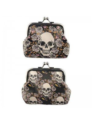 Wholesale Skulls and Roses Tic Tac Purse
