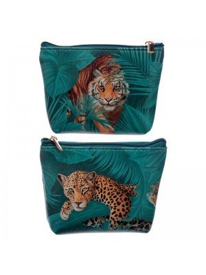Wholesale Spots and Stripes Big Cat PVC Purse