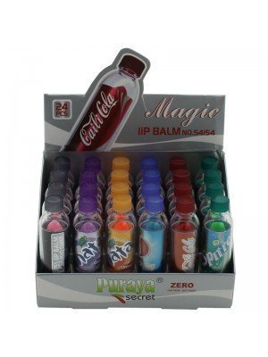 Puraya Secret Magic Lip Balm - Assorted Bottle Designs