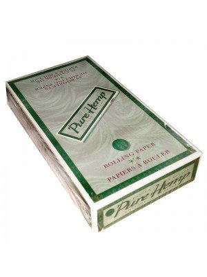 Wholesale Pure Hemp Unbleached Rolling Paper - 1 1/4 size
