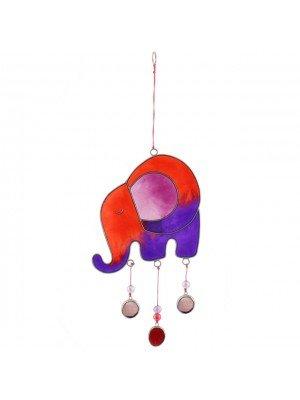 Purple Elephant Sun Catcher