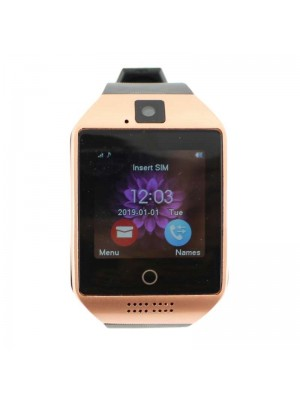 Smart Watch Q-18 - Rose Brown