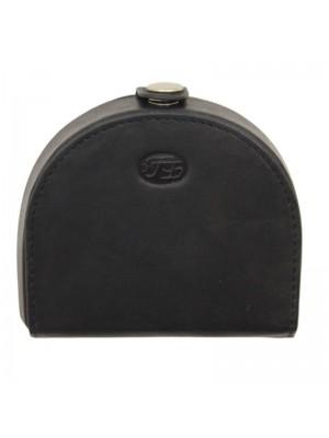Wholesale Ladies Florentino Leather Coin Purse - Black