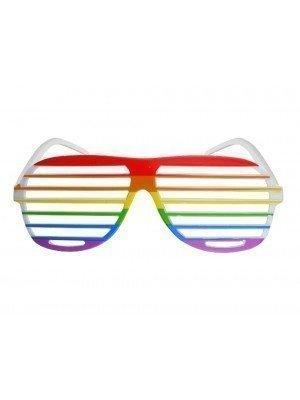 Wholesale Rainbow Pride Shutter Glasses