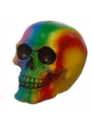 Wholesale Rainbow Skull Figurine