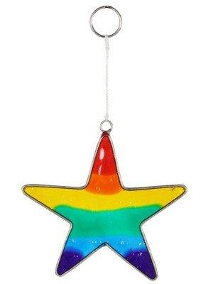 Wholesale Rainbow Star Suncatcher