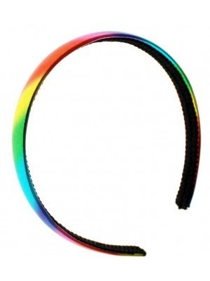 Wholesale Molly and Rose Rainbow Coloured Alicebands (2cm)