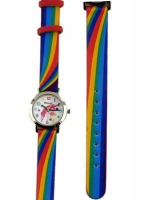 Ravel Girls Rainbow Unicorn Design Watch