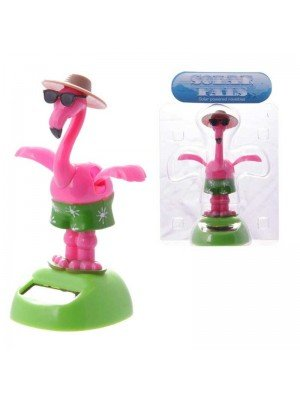 Wholesale Solar Powered Dancing Flamingo