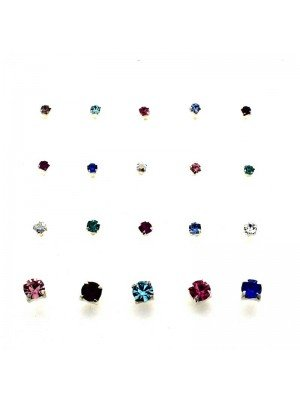 Wholesale  Assorted Clawset Round Nose Pins- 2/2.5/3mm
