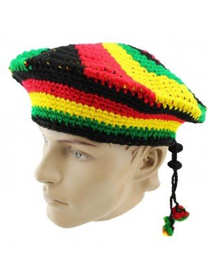 Wholesale Unisex Knitted Rasta Hat - Assorted Designs
