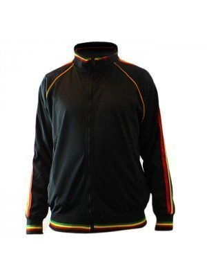 Unisex Rasta Design Jacket - Medium