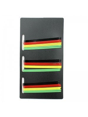 Rasta Coloured Hairpins