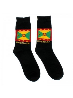 Rasta Design Socks - Grenada Flag