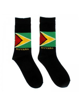 Rasta Design Socks - Guyana Flag