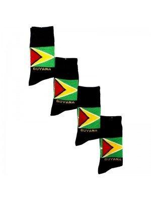 Rasta Design Socks - Guyana Flag