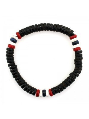 Rasta Themed Bracelets - Trinidad & Tobago Colours